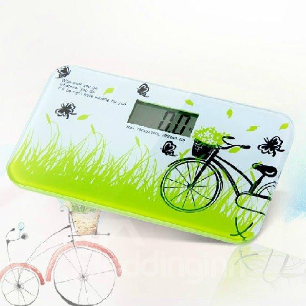New Style Wonderful Elegant Bicycle Printing Weight Scale