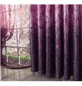 Romantic Elegant Purple Lavender Pattern Custom Curtain