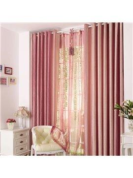 Vibrant Pink Mauve Grommet Top Custom Curtain
