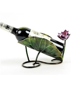 New Arrival Beautiful Iron Electroplate Wine Rack
