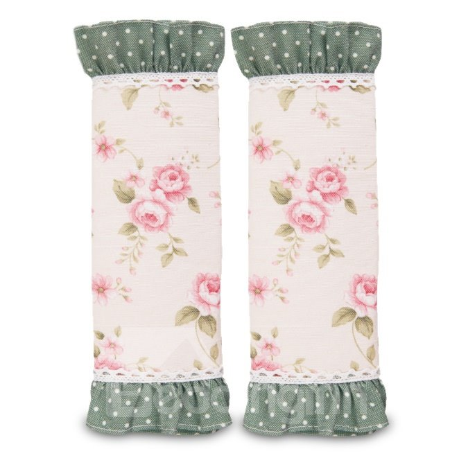 Flower Pattern Soft Car Seat Belt Cover