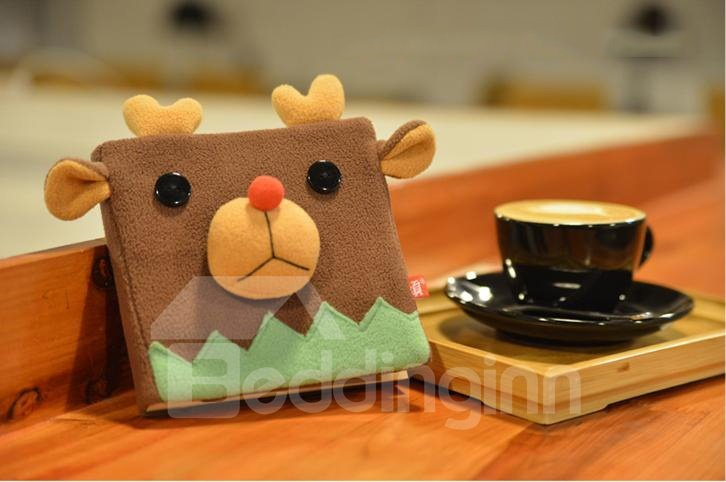 New Arrival Lovely Elk Pattern Christmas Gift Notebook