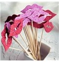 New Arrival Fashion Lovely Lip Pattern One Set Photo Props