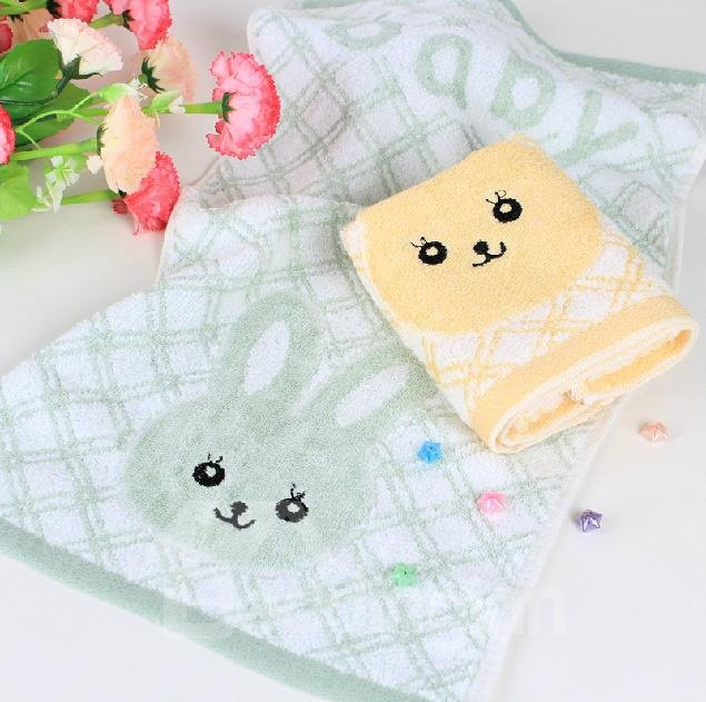 High Quality Pretty Lovely Rabbit Pattern Full Cotton Towel