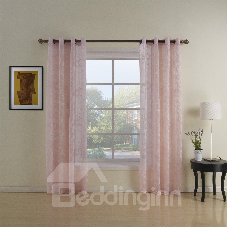 New Style Stunning Modern Simple Custom Sheer Curtain