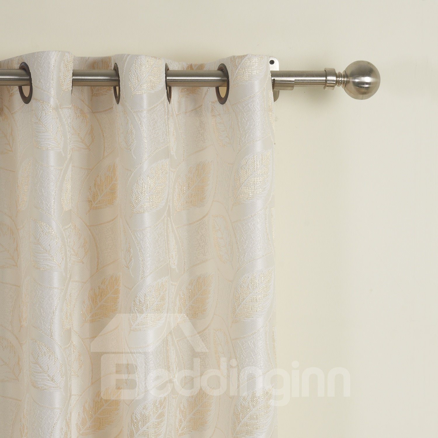 Fantastic Modern Beautiful Polyester Two Pieces Custom Curtain