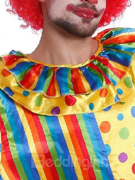 New Arrival Fancy Cute Clown Pattern Costume