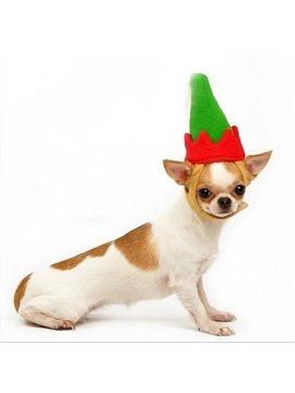 New Arrival Lovely Fabulous Christmas Gift Green Hat for Pet