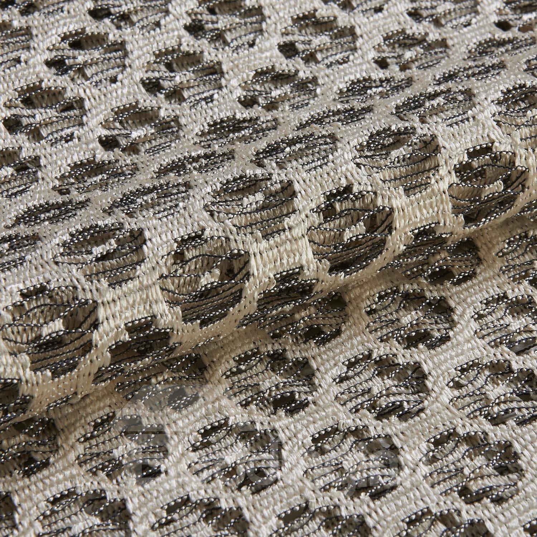New Style Classic Beige Custom Sheer Curtain