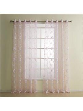 Fantastic Pretty Lovely Pink Custom Sheer Curtain