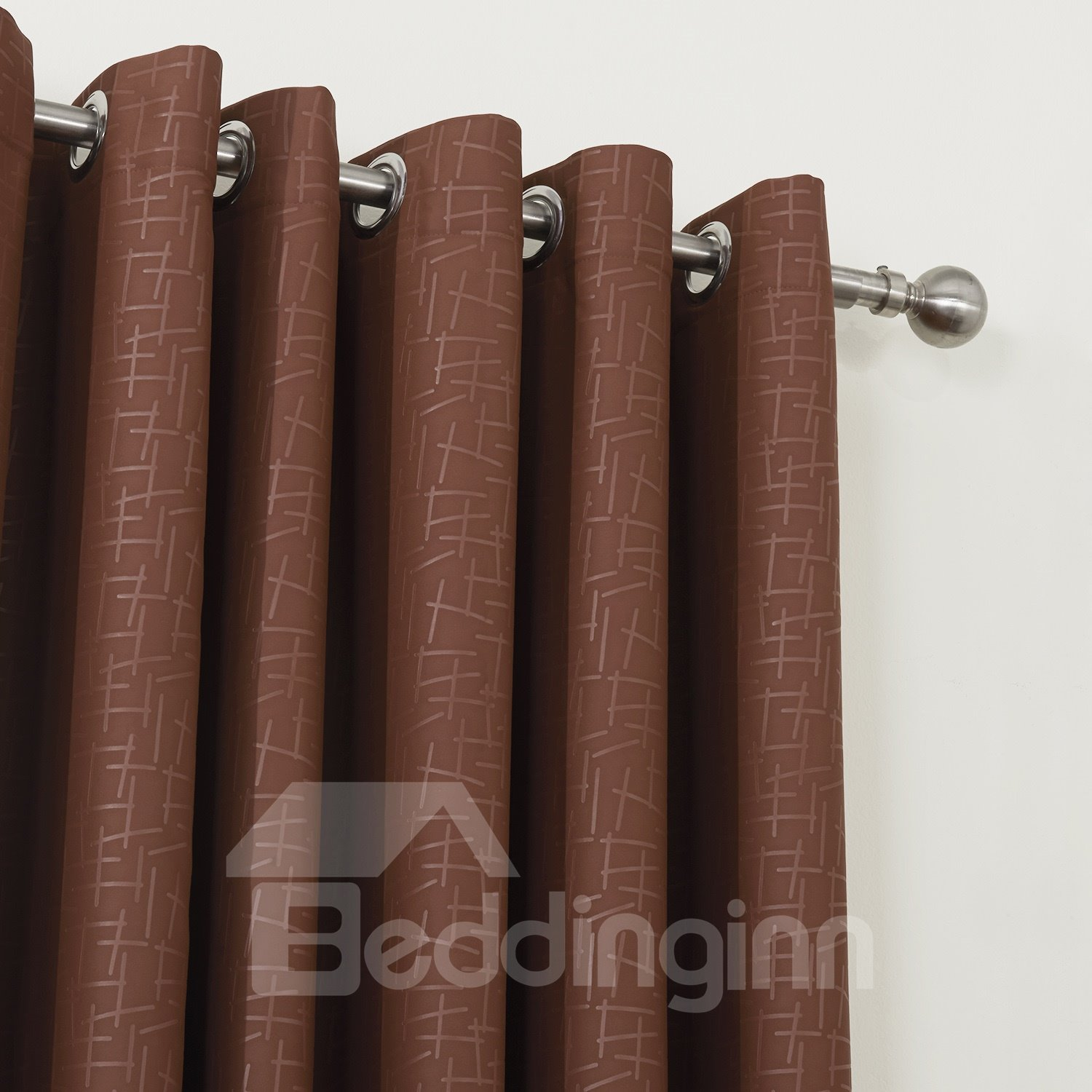 High Class Solid Color Blackout Custom Made Curtain