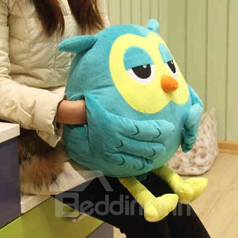 Creative Gift Owl Shape Pattern Comfortable Throw Pillow