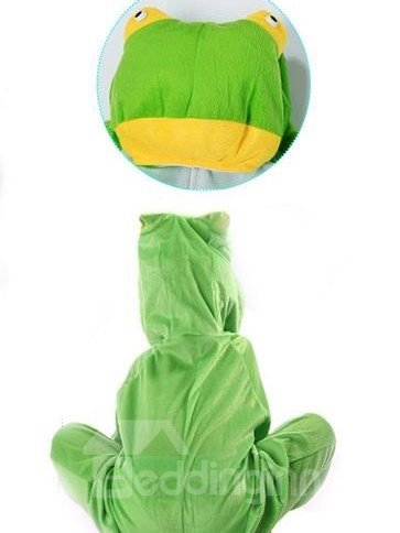 New Style Cute Cool Frog Pattern Costume
