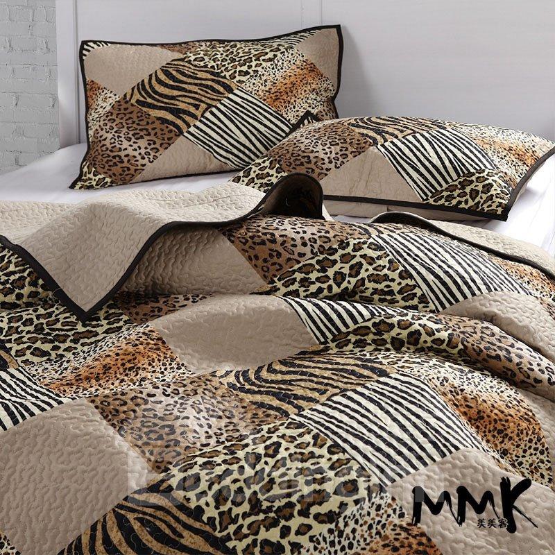 Super Cool Leopard Pattern Bed in a Bag