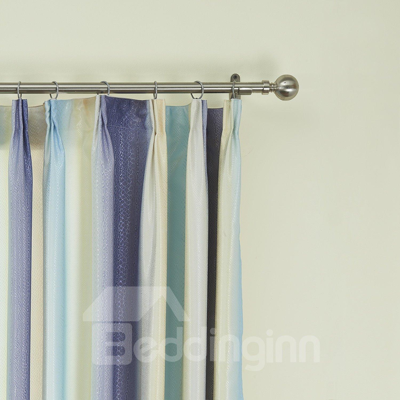Graceful Pretty Mixed Color Checks Pattern Custom Curtain