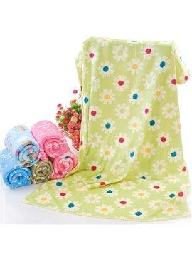 Super Cozy Beautiful Floral Printing Bath Towel