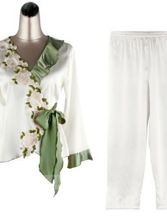 New Arrival Elegant Floral Design Female Loungewear