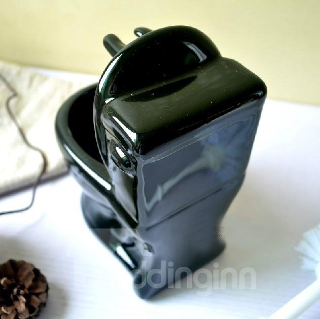 Creative Adorable Ceramic Concise Toilet Brush Holder