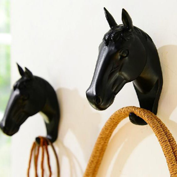 Wonderful Pretty One Piece of Little Horse Coat Hook