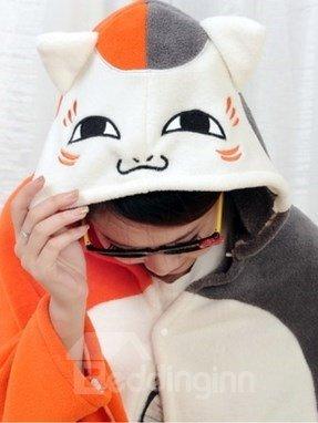 Super Lovely White and Orange Cat Pattern Skincare Blanket
