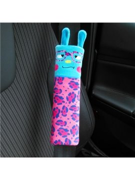 Super Lovely Wearing Colored Glasses Pattern Seat Belt Cover