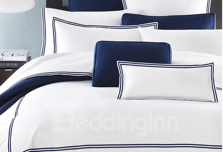 Hot Selling High Quality Bright Colored Cotton Duvet Cover Sets