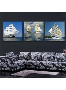 3-Pieces of Crystal Film Art Wall Print