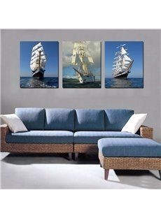 High Quality Unique 3-Pieces of Crystal Film Art Wall Print