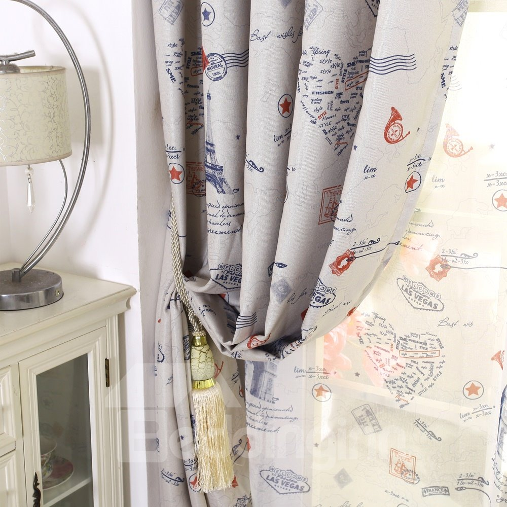 Best Home Fashion Linen Custom Made Curtain