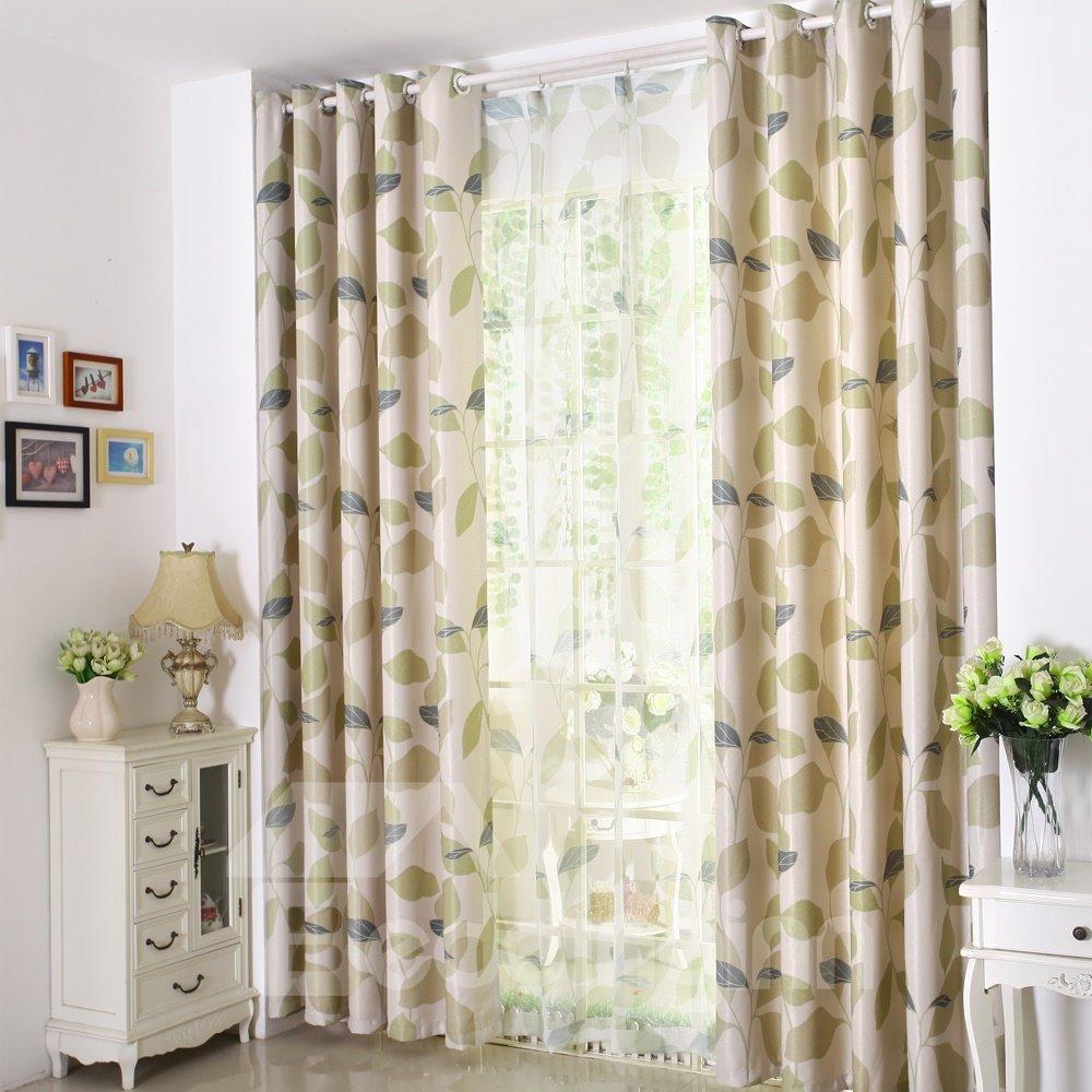 Concise Design Solid Light Insulation Custom Curtain