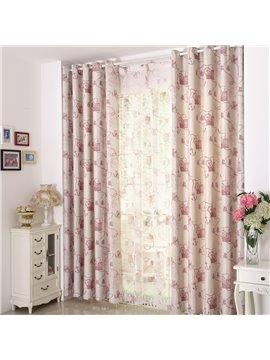 Classic Design Linen Blackout Custom Made Curtain