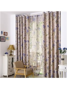 Concise Style Thermal Insulation Custom Curtain