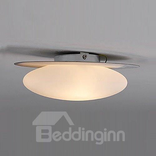 Unique Design Pretty 1-Head Oval Shape Flush Mount