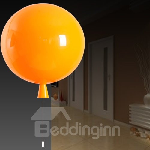 Pretty Wonderful Acrylic Contemporary Balloon Shape Wall Light