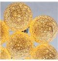 Pretty Ball Shape Alloy 7-Heads Pendant Lights