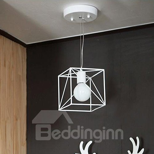 Wonderful Modern Alloy Polygon Shape Pendant Lights
