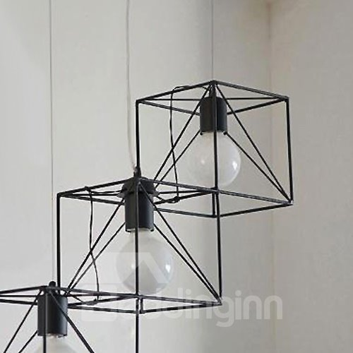 Unique Design Alloy Pretty 3-Heads Pendant Lights