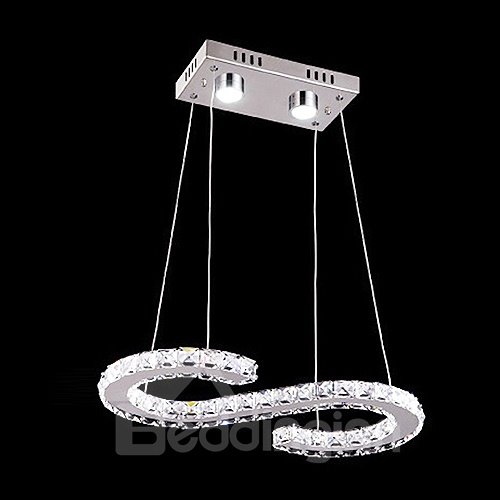 Beautiful Design Alloy and Crystal Pendant Lights