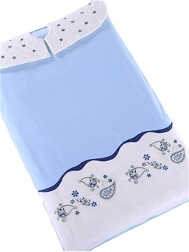 Fresh Dew Pattern Cotton Material Super Comfortable Baby Sleeping Bags
