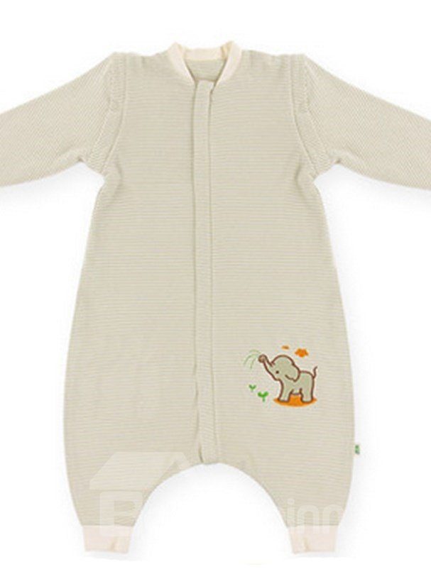 Hot Selling Skincare Organic Cotton Little Elephant Baby Sleeping Bag