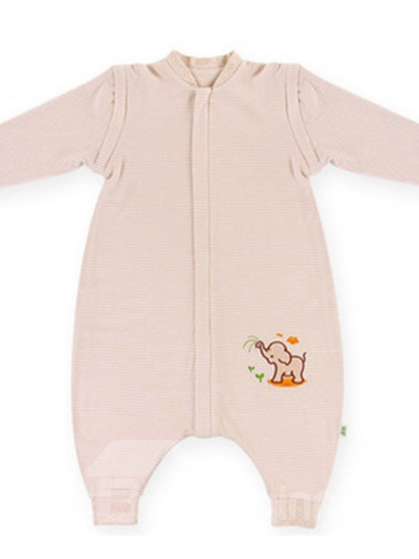 Hot Selling Skincare Organic Cotton Lovely Elephant Baby Sleeping Bag