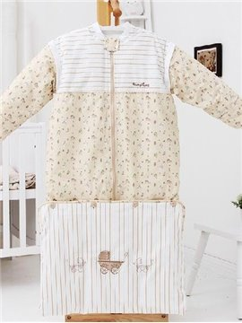 Top Quality Amazing Beige Baby Sleeping Bag