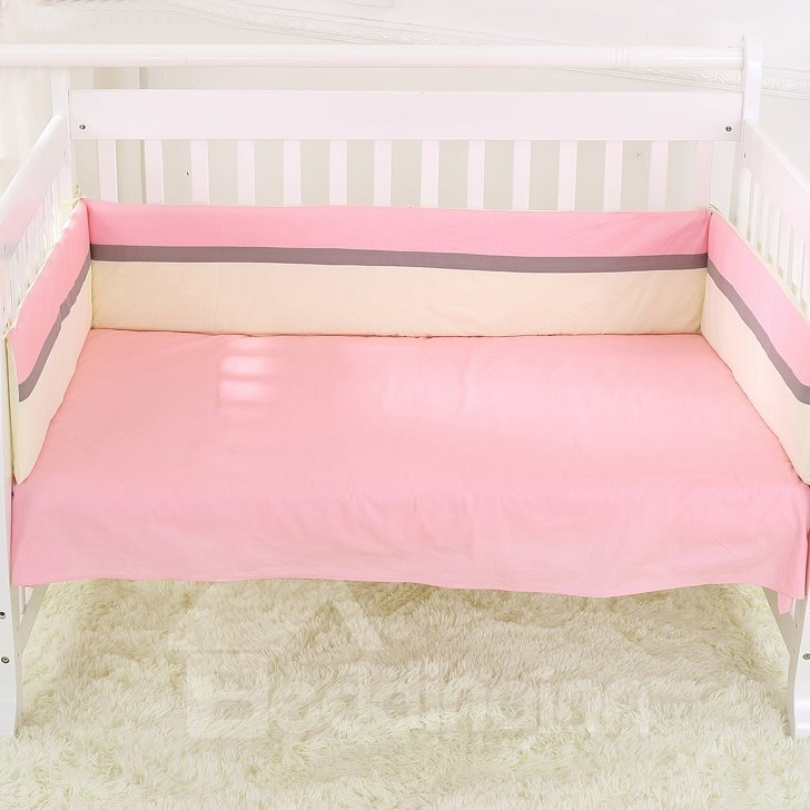 Super Warm and Comfortable Girl Playing with Dog Crib Bedding Set