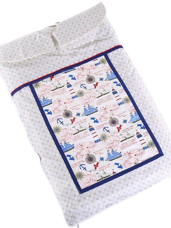 Brave Navigators Travelling the Sea Pattern Baby Sleeping Bag