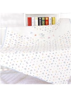 Environmental Cozy Lovely Bear Printing Baby Quilt for Summer