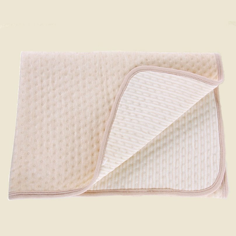 Hot Selling Super Soft 100% Organic Cotton Baby Blanket