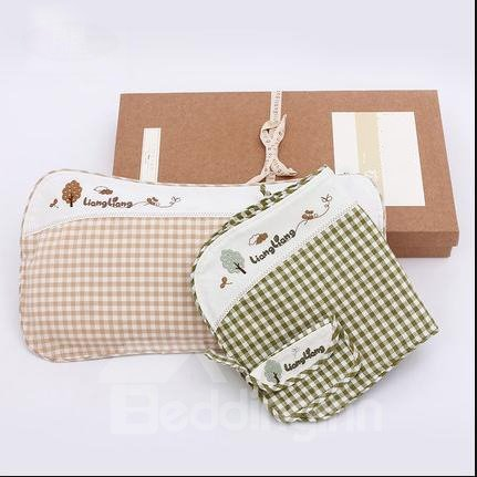 Wonderful Ramie and Cotton Baby Pillow with Little Pouch