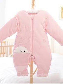 Top Class Cozy Rabbit Pink Baby Sleeping Bag