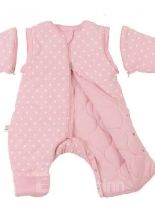 Super Romantic Cozy Pink Baby Sleeping Bag