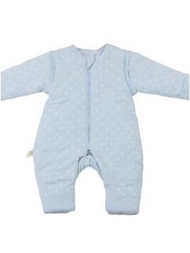 Super Elegant Cozy Blue Baby Sleeping Bag